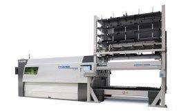 Kompaktní paletový manipulační systém pro ukládání a vyhledávání materiálu